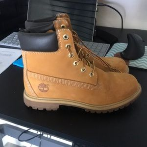 "Women's Timberlands 6"" Premium Waterproof Boots"